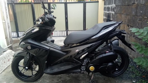 Yamaha aerox155 2018 model photo