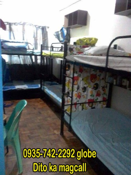 Male Apartment Dorm Unit 4 Bedspace KATIPUNAN Ateneo UP P4900 ALLIN AIRCON 09357422292 photo