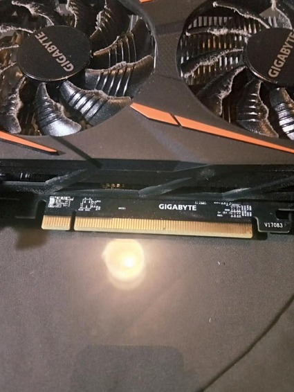 Gigabyte RX 560 4gb photo