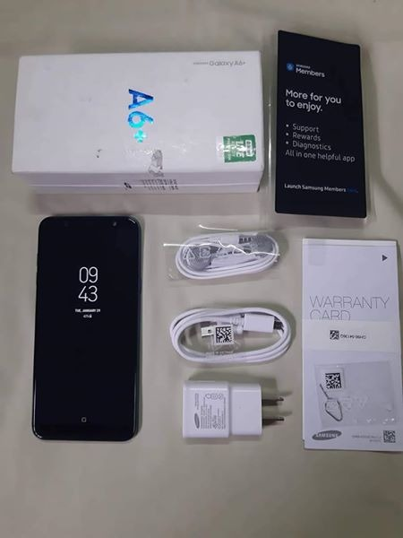 Samsung A6 Plus Blue 32GB l 4GB photo