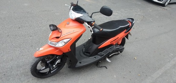 mio sporty matt orange 2017model accrd 2018 photo