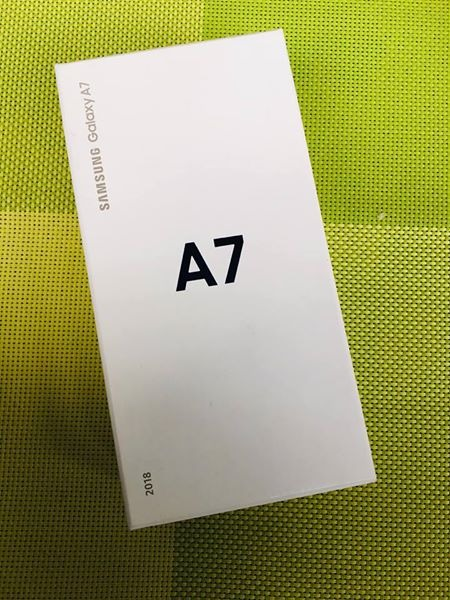 Selling SamSung A7 2018 (Brand New Sealed) Ntc Local Perchase photo