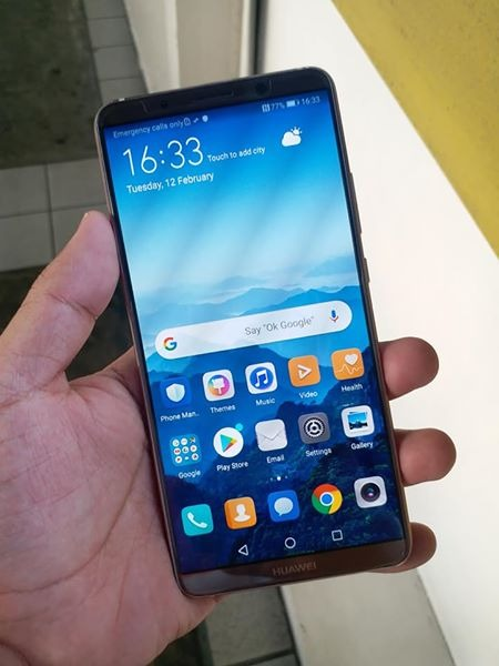 Huawei Mate 10 Pro 128GB Mocha Brown photo
