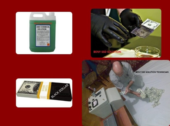 BLACK MONEY CLEANING SSD SOLUTION CHEMICAL photo