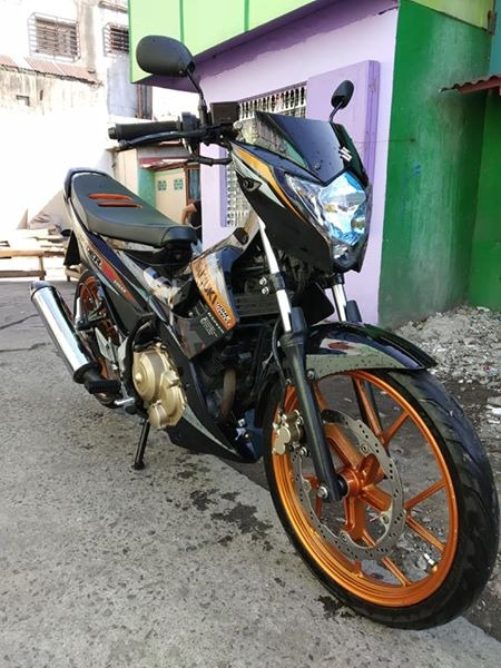 Suzuki Raider 150 2016 model photo