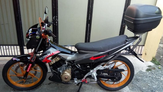 Suzuki raider150 2012 model photo