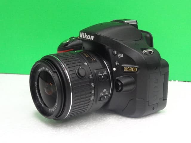 Nikon D5200 with 18-55mm vr ll photo