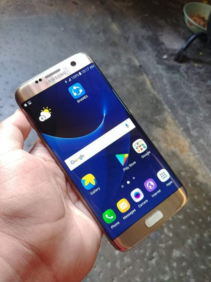 Samsung S7 Edge Duos 32GB Gold photo