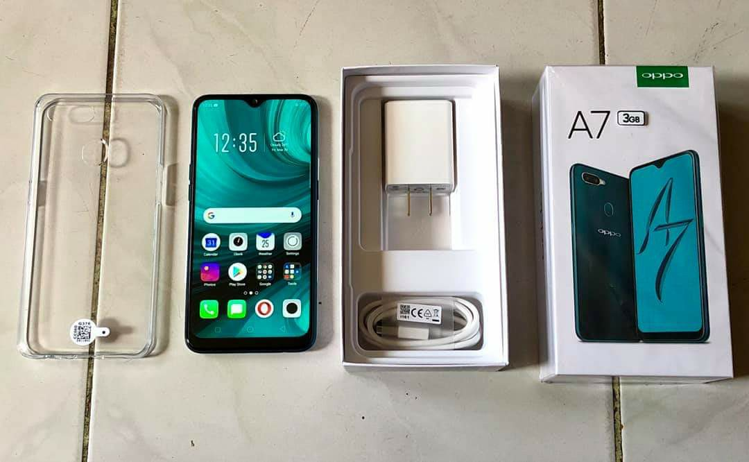 Oppo A7 2019 3GB | 64GB Glaze Blue photo