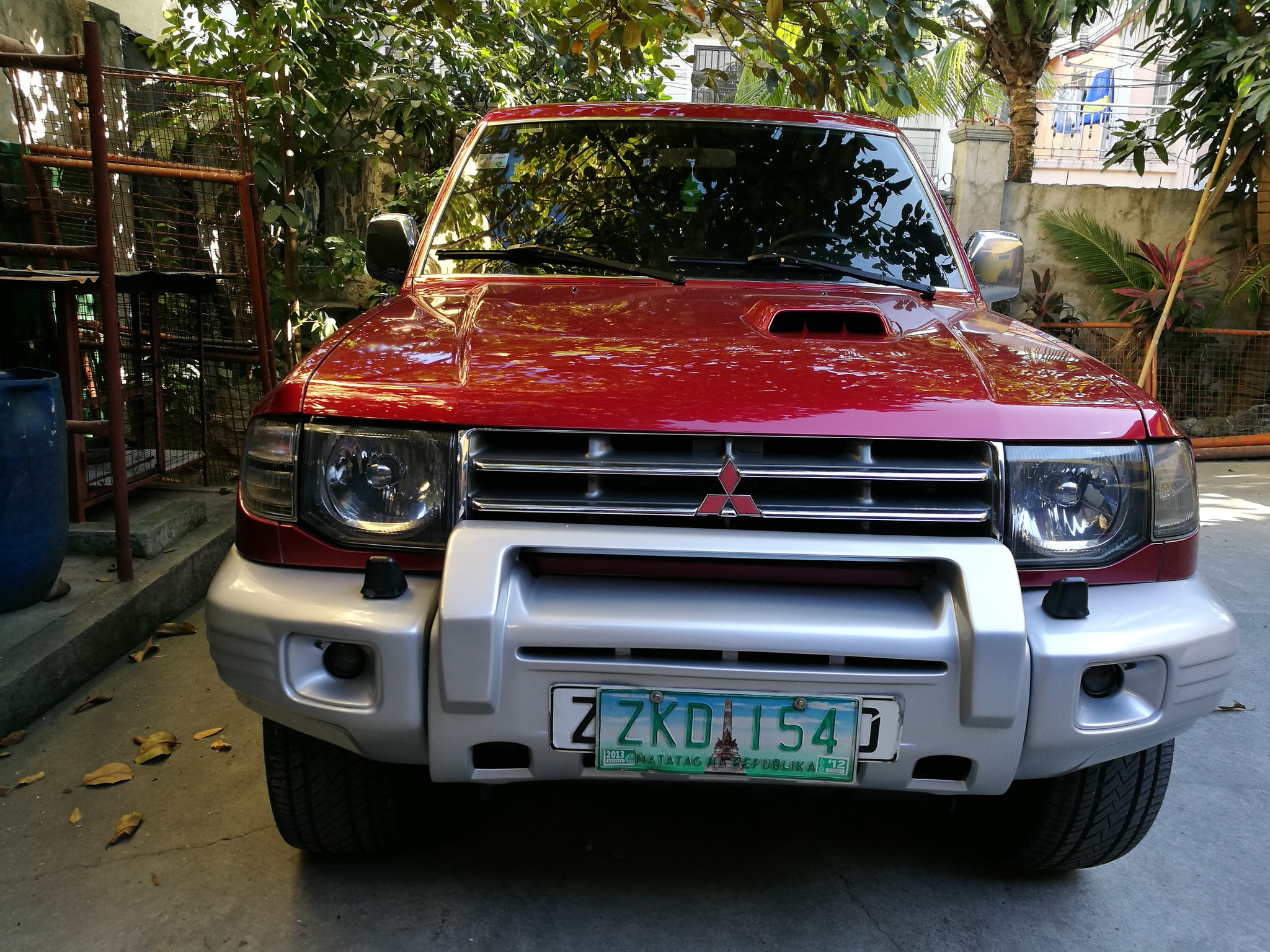 2007 Mitsubishi Pajero Fieldmaster Local photo