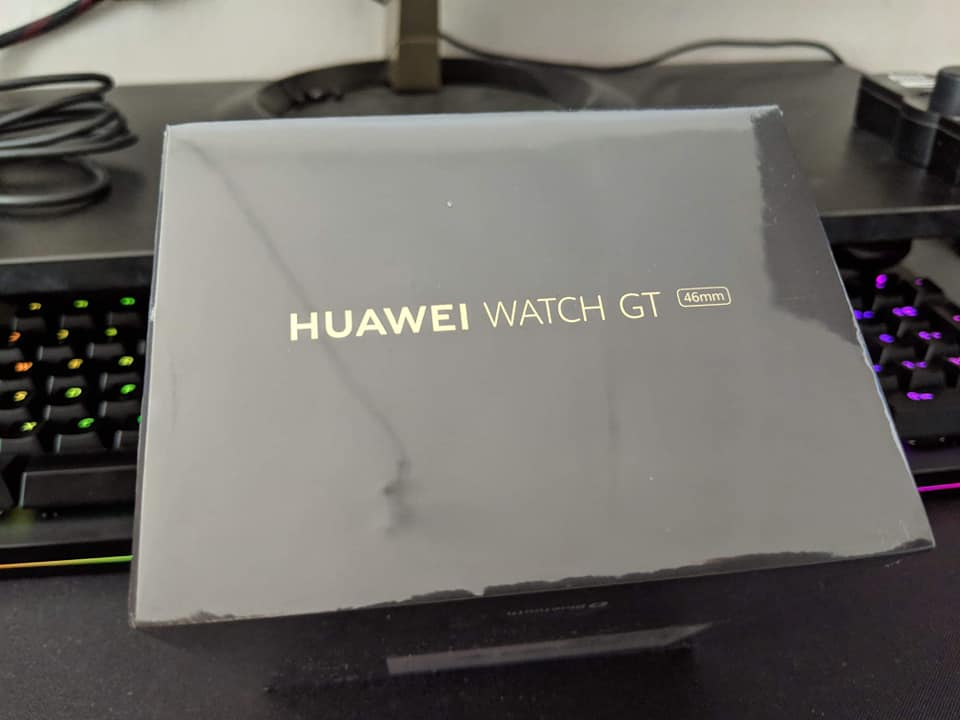 Huawei Watch GT black bnew sealed photo