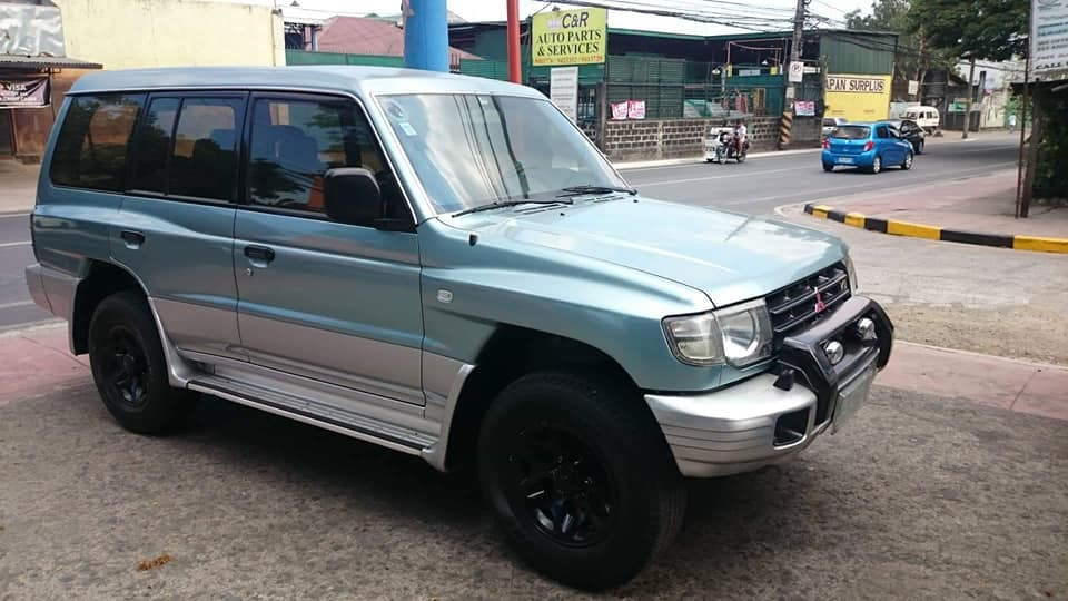 mitsubishi pajero gas 99mdl photo