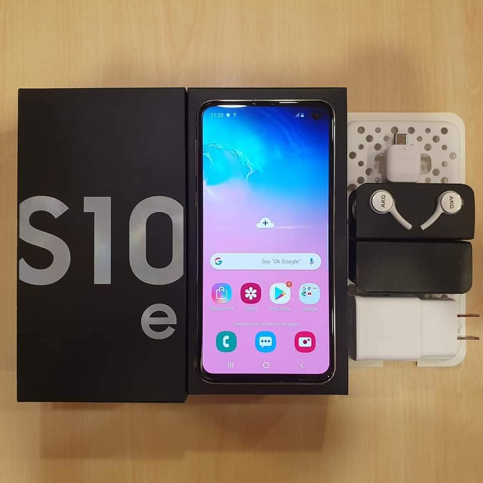 Samsung Galaxy S10e 128GB Prism White NTC photo