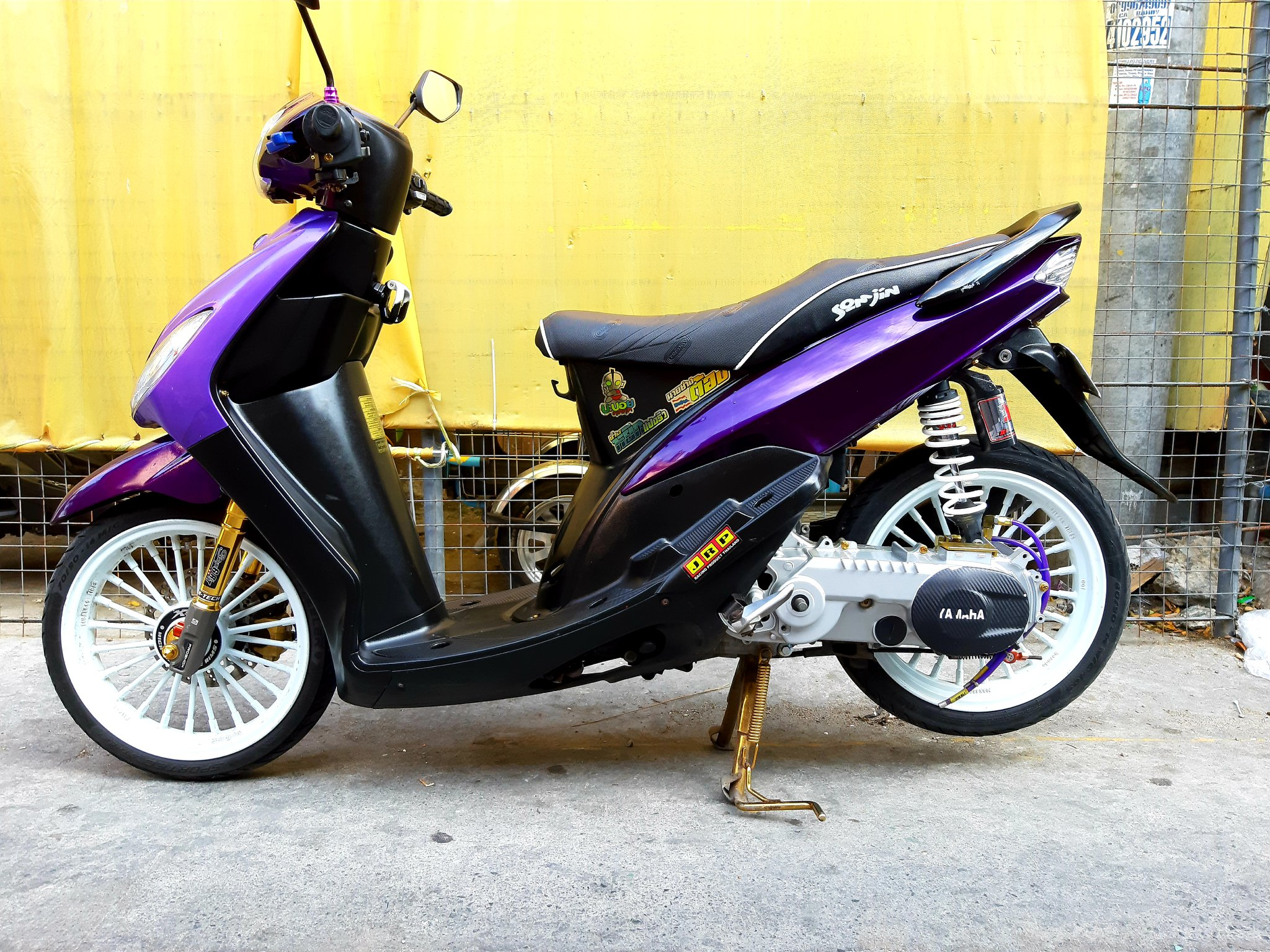 Yamaha Sporty 2010 ( All stock ) photo