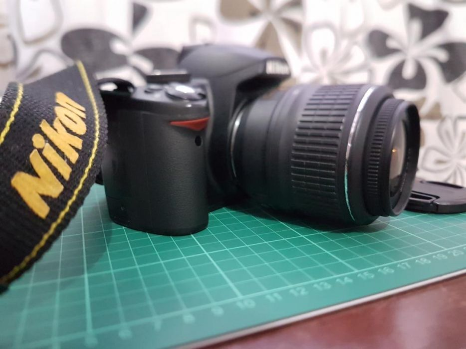 Nikon D3000 with Case Logic Bag photo