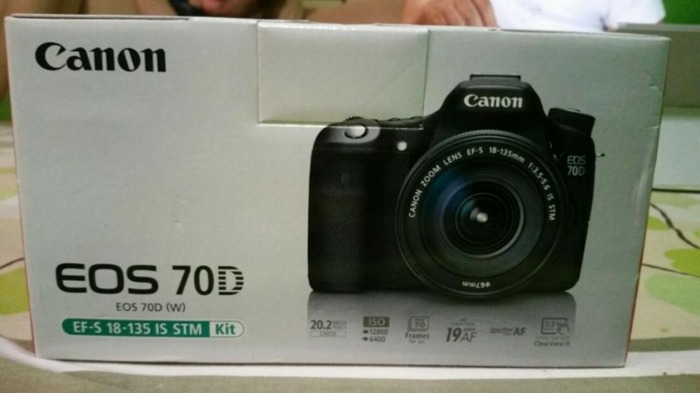 Canon 70d Perfect Condition Rush photo