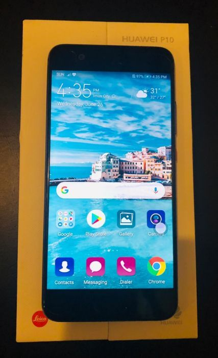 Huawei P10 (Slightly Used) with FREE Selfie Stick photo