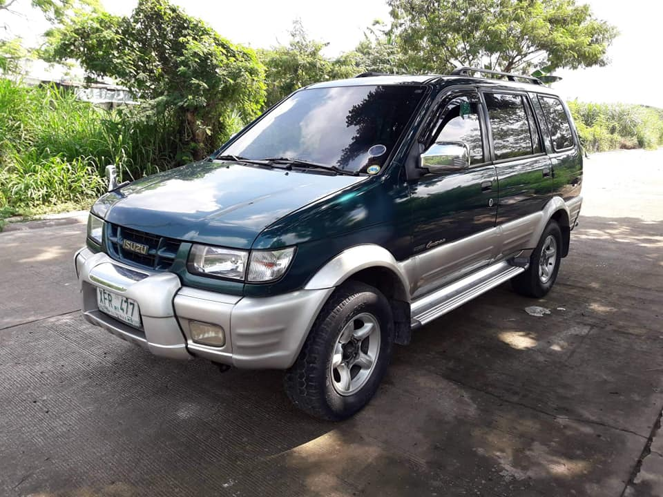 2002 isuzu crosswind XUV MT photo