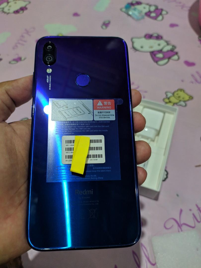 Xiaomi redmi note 7 photo