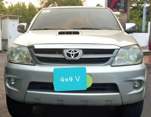 Toyota  2006 model Fortuner V photo