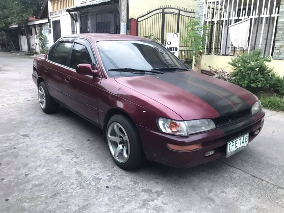 Toyota Corolla XE 1993 photo