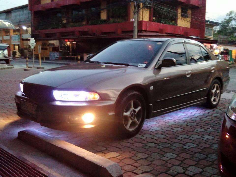 Mitsubishi Galant Shark 1999 GTZ AT with JDM Body Kit photo