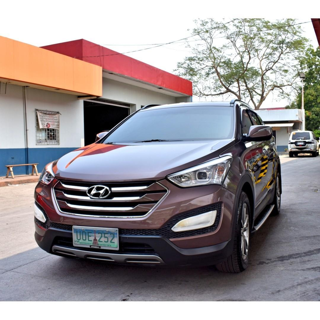 2013 Hyundai Santa Fe ReVGT AT photo