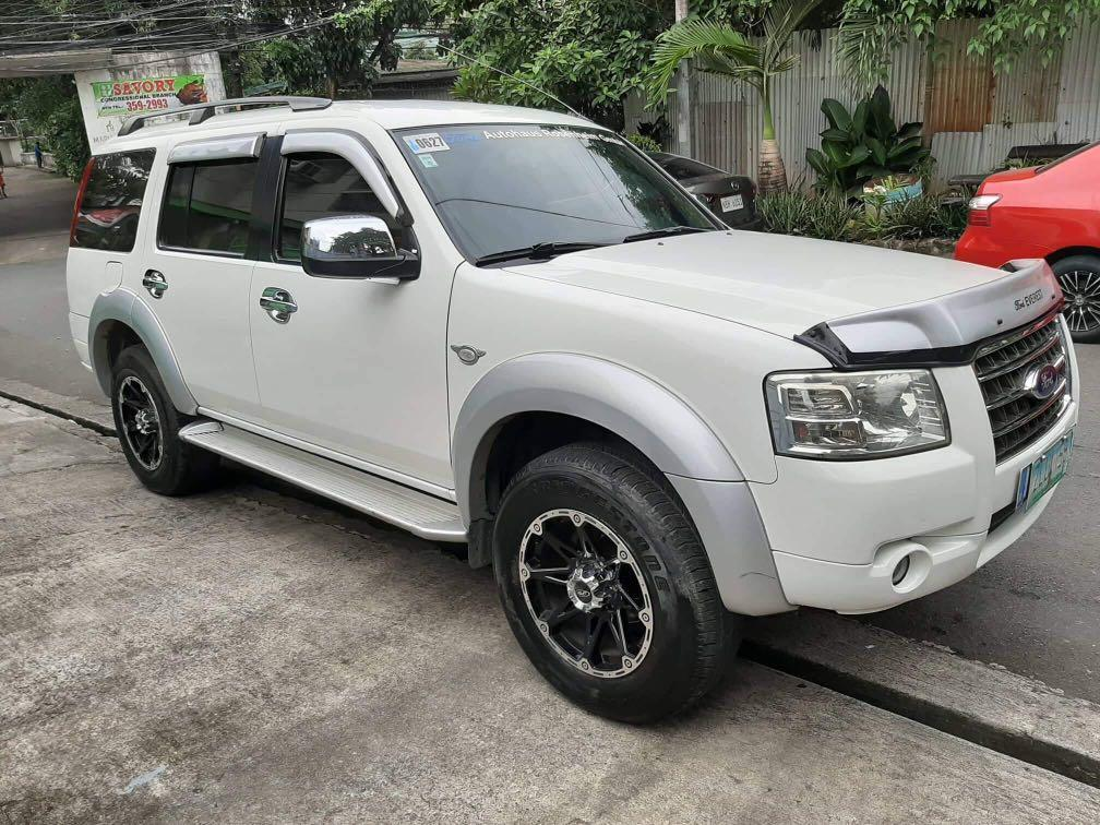 Ford Everest 2008s Matic Intercooler Turbo Diesel photo