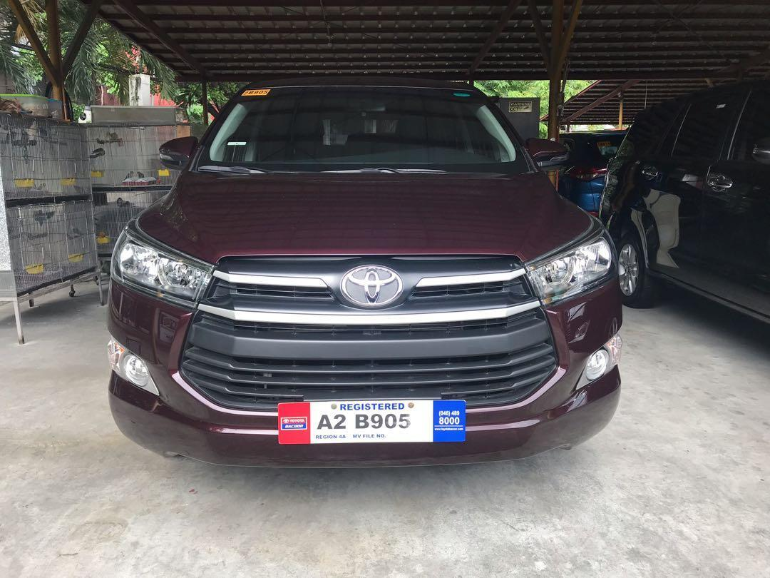 2018 Toyota Innova  E photo