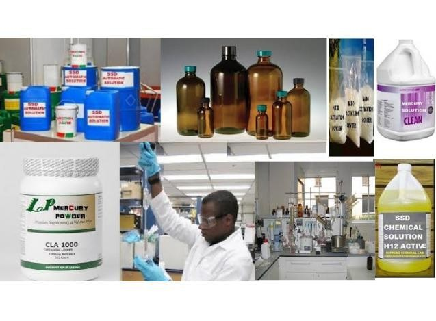 SSD SOLUTION  POWDER CHEMICALS for cleaning black dollars in Philippines photo