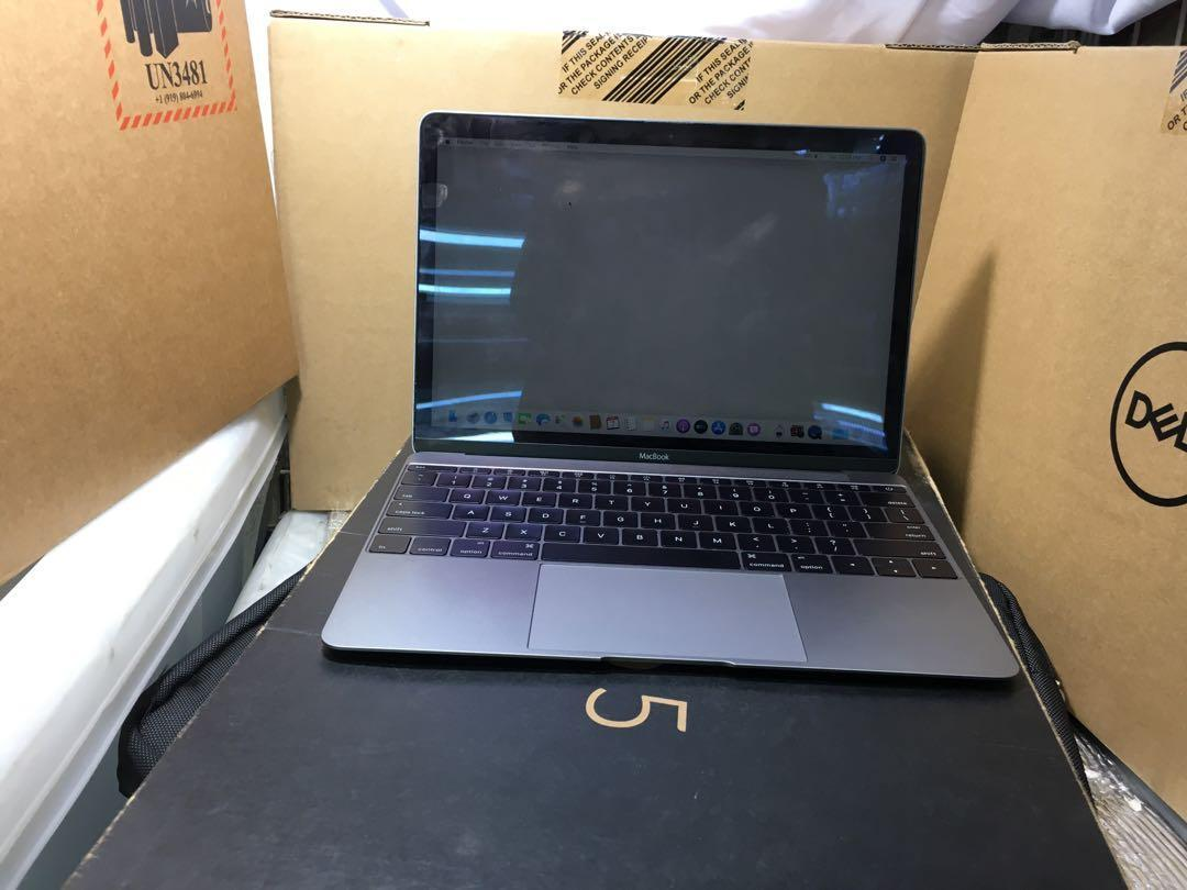"Macbook 12"" Color Spacegray Core M 1.2Ghz 2015 photo"