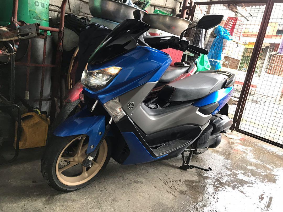 Yamaha Nmax 2018 model blue photo