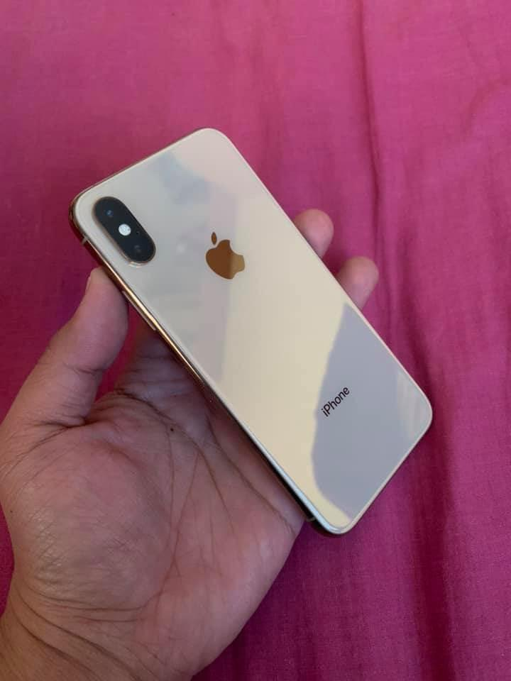 Iphone xs 64gb gold fu photo