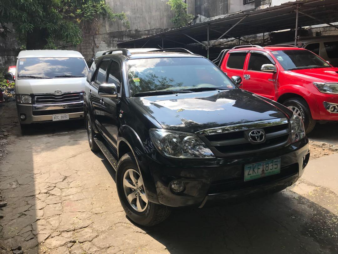 2007 Toyota Fortuner AT photo