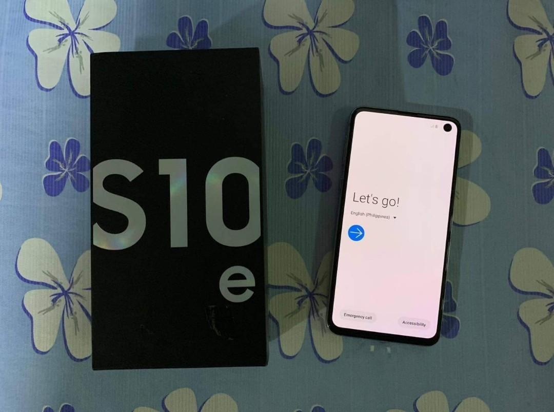 Samsung Galaxy S10e Duos 6gbram 128gbrom photo