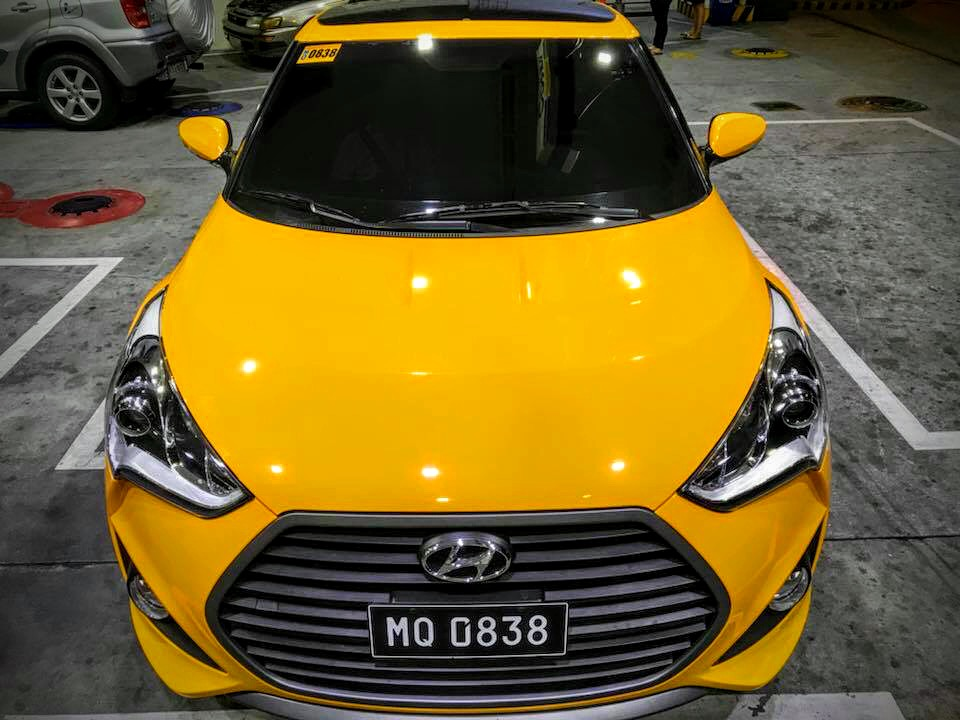 2016 Hyundai Veloster Turbo Sports  photo