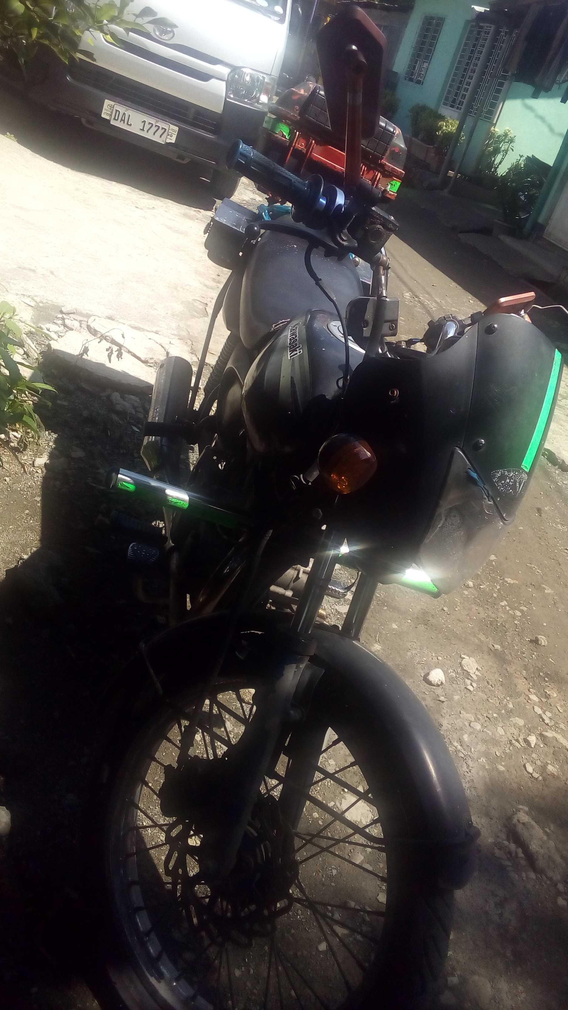 kawasaki wind 125 baja 2009 model photo