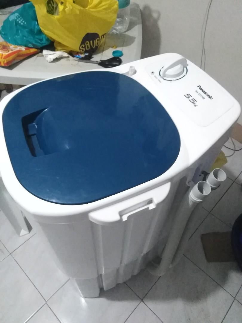 Panasonic Washing Machine 5.5kg Model NA-S5518B photo