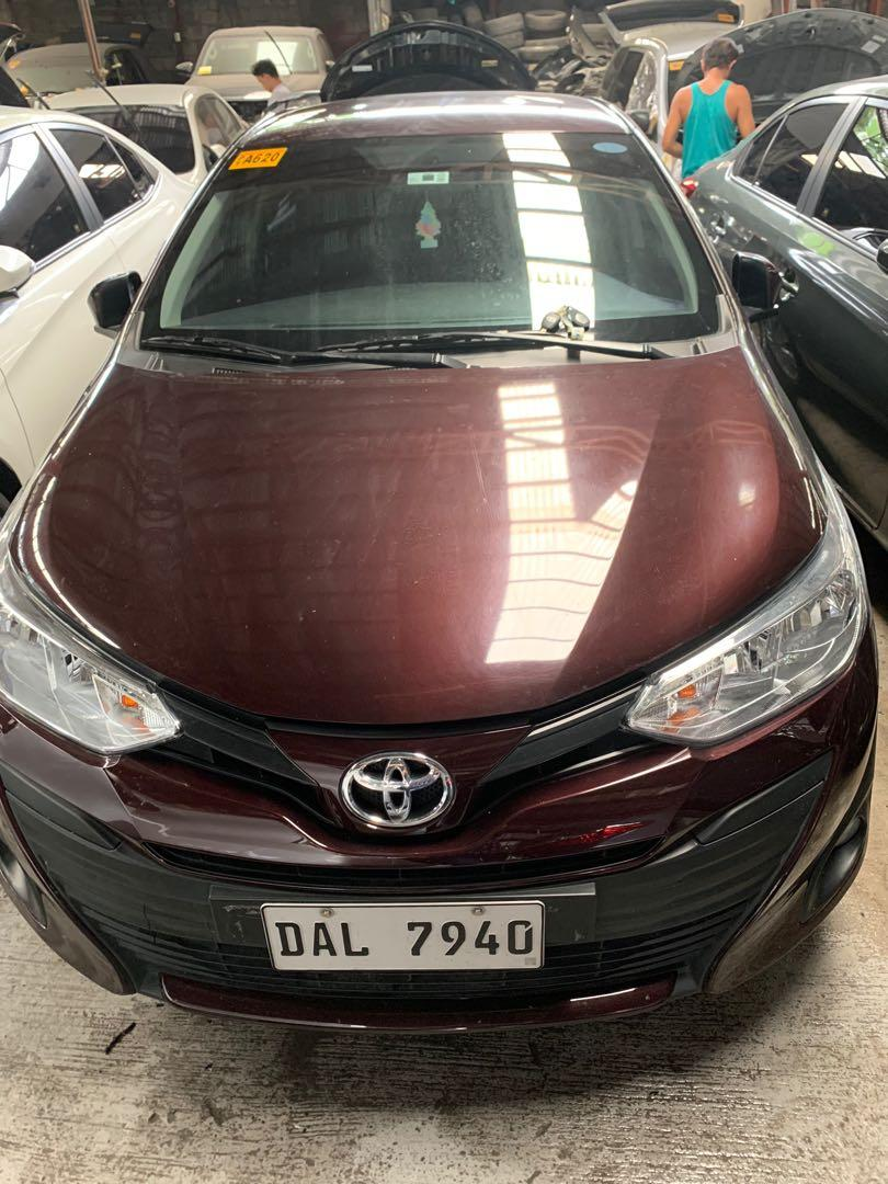 2019 Toyota Vios 1.3E Automatic Blackish Red photo