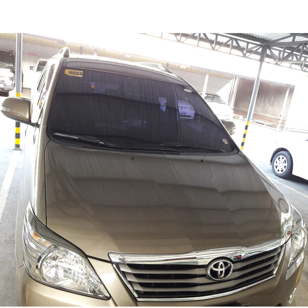 Toyota Innova G  Manual 2013 photo
