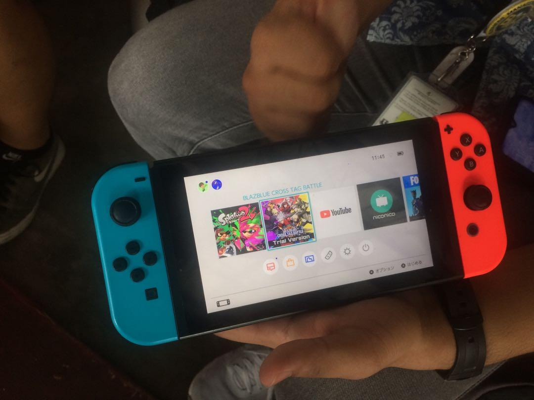 Nintendo Switch (version 1) photo