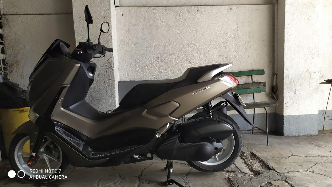 Yamaha nmax 2016 gun metal photo
