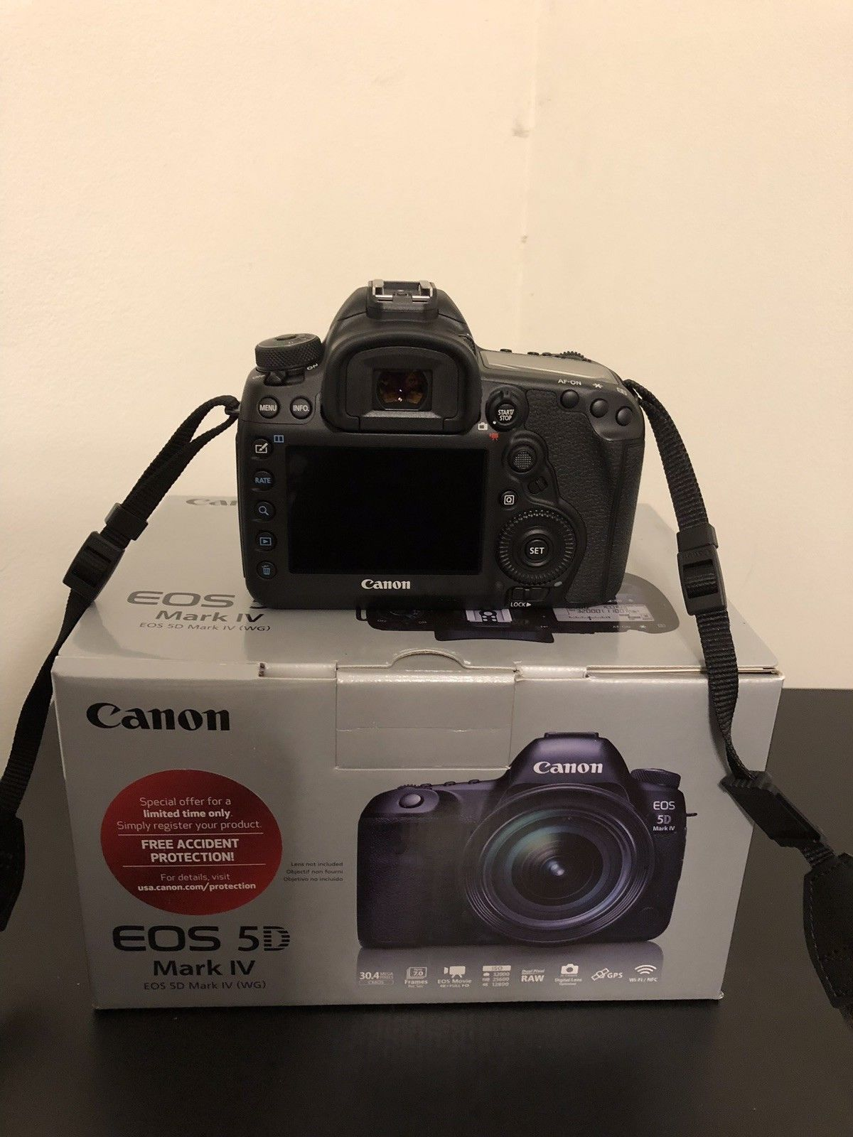 Canon EOS 5D Mark IV DSLR Camera photo