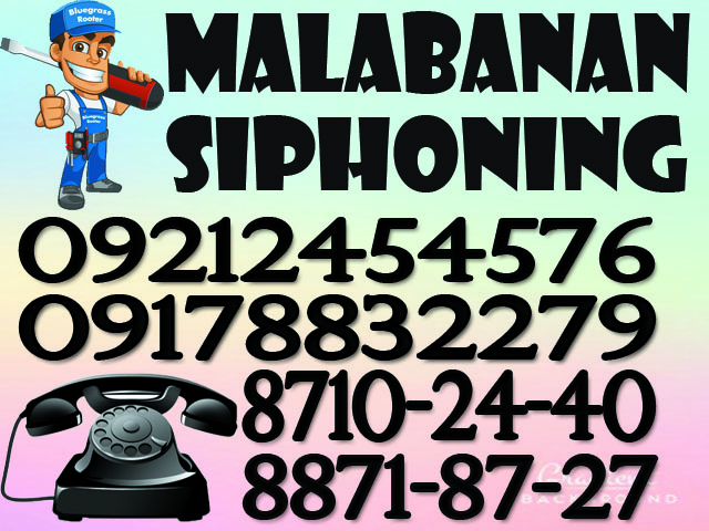 malabanan siphoning and declogging services photo