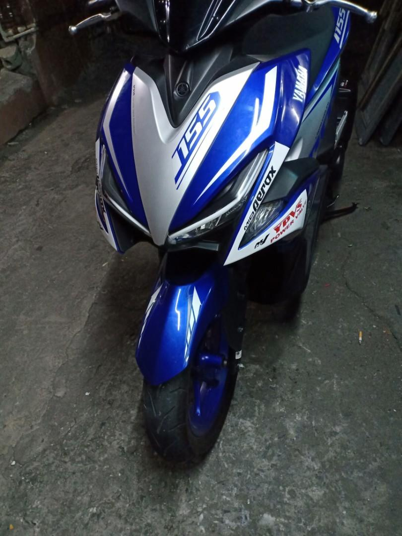 2018 Yamaha aerox 155 photo