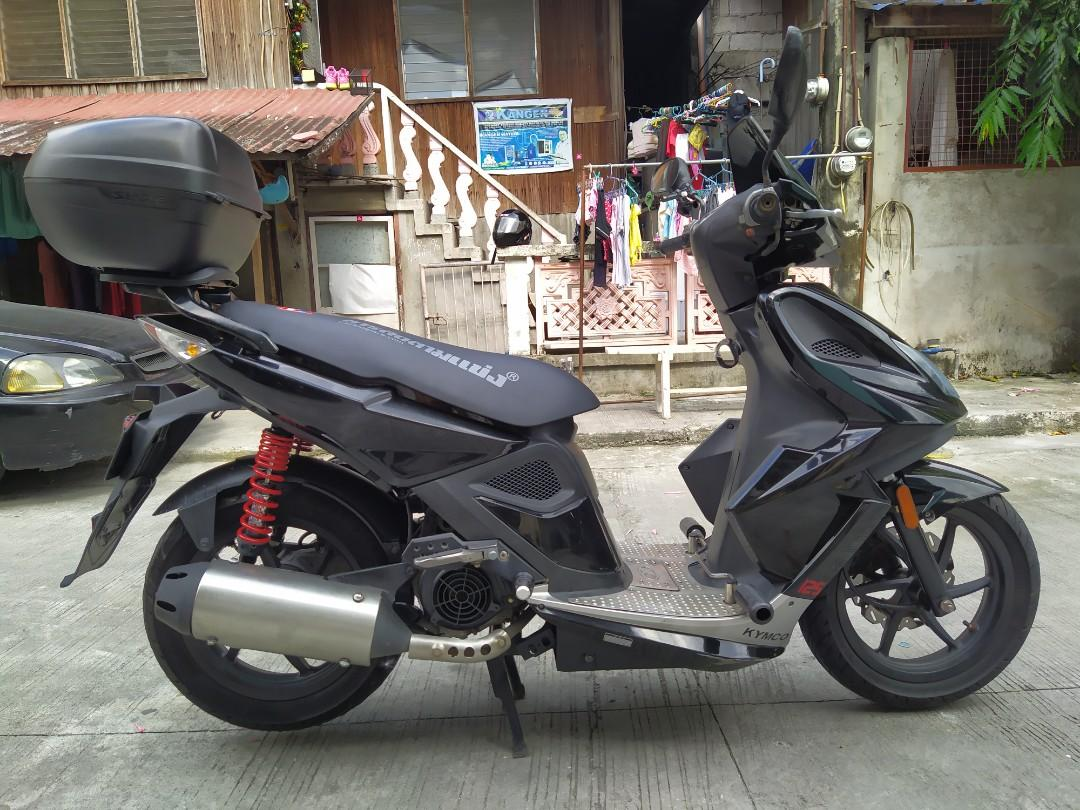 Kymco super 8 125cc 2014 photo