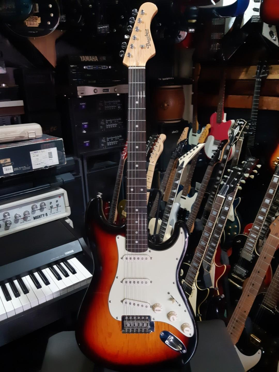 Bacchus stratocaster guitar photo