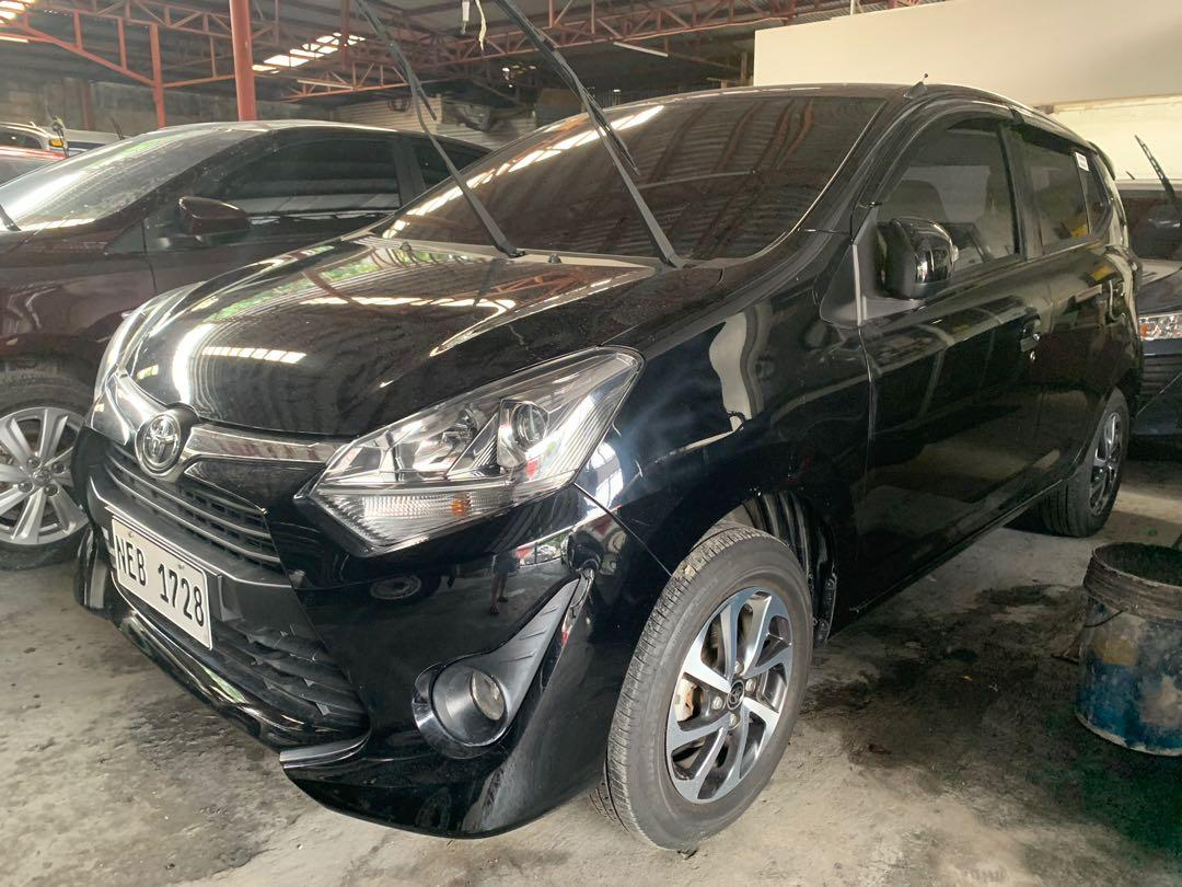 2019 Toyota Wigo 1.0 G Manual Black photo