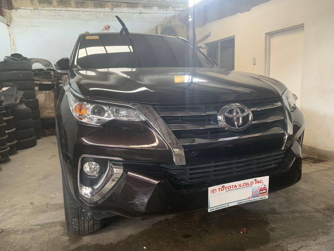 2018 Toyota Fortuner 2.4 G 4x2 MT photo