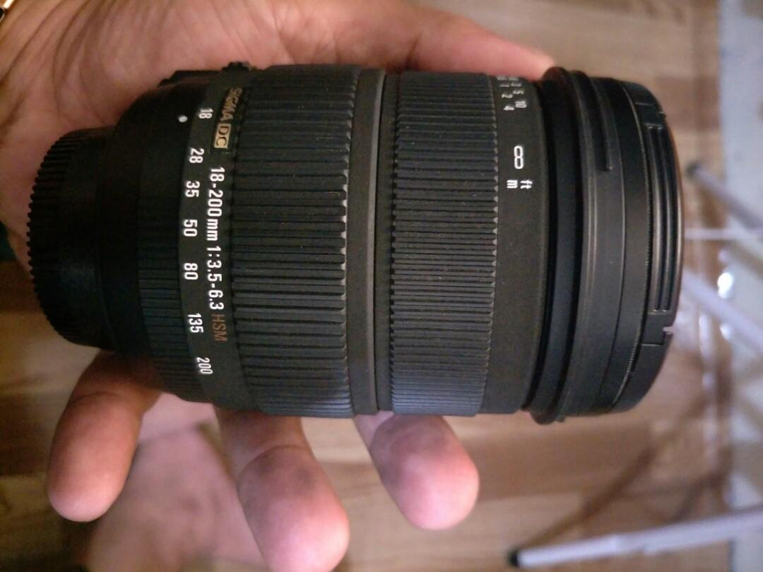 sigma 18/200 nikon mount photo